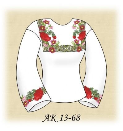 Заготовка блузки АК 13-68