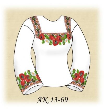 Заготовка блузки АК 13-69