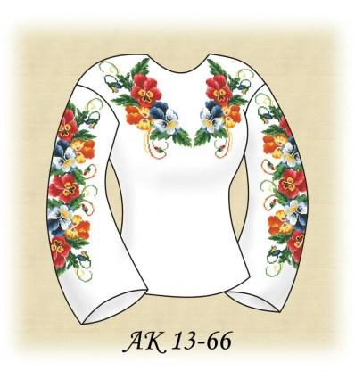 Заготовка блузки АК 13-66