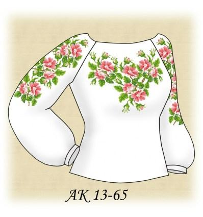 Заготовка блузки АК 13-65