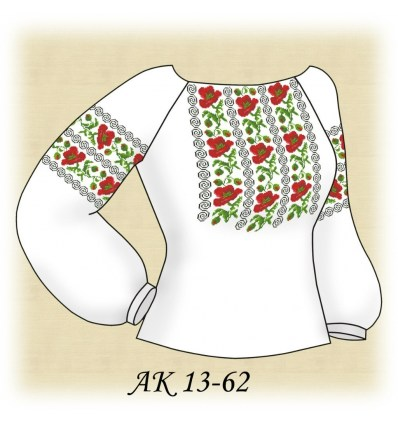 Заготовка блузки АК 13-62