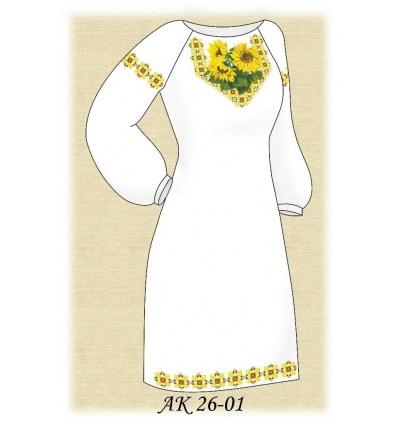 Заготовка платья АК 26-01
