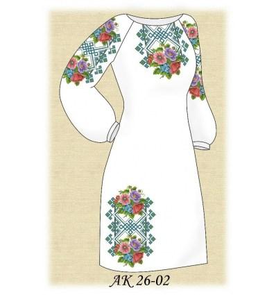 Заготовка платья АК 26-02