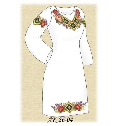 Заготовка платья АК 26-04
