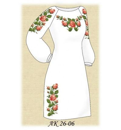 Заготовка платья АК 26-06