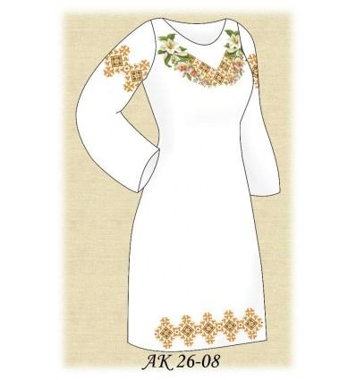 Заготовка платья АК 26-08