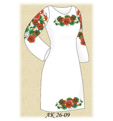 Заготовка платья АК 26-09