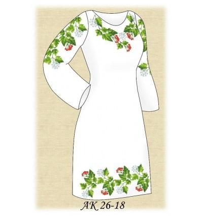 Заготовка платья АК 26-18