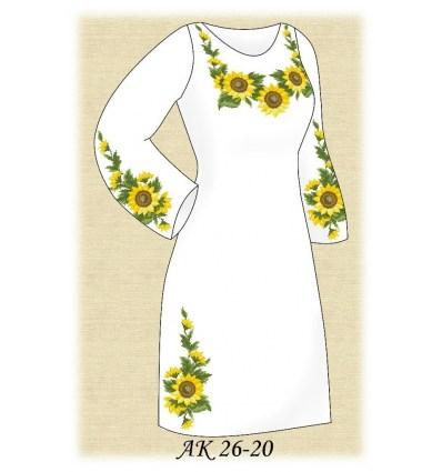 Заготовка платья АК 26-20