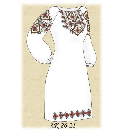 Заготовка платья АК 26-21
