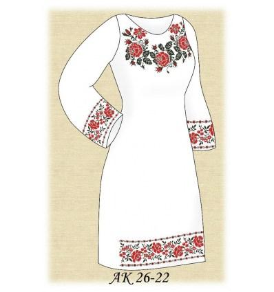 Заготовка платья АК 26-22