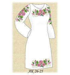Заготовка платья АК 26-25
