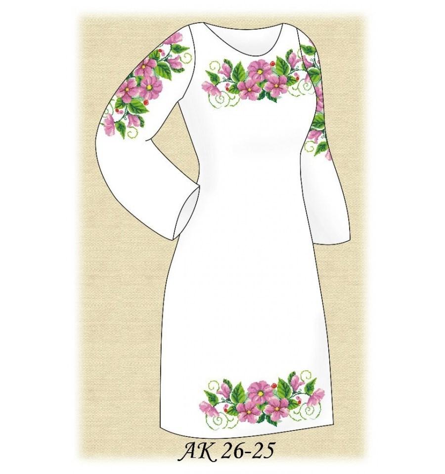 Вишивка бісером Заготовка плаття АК 26-25 купити недорого в інтерне... 9d80ee0dddeb9