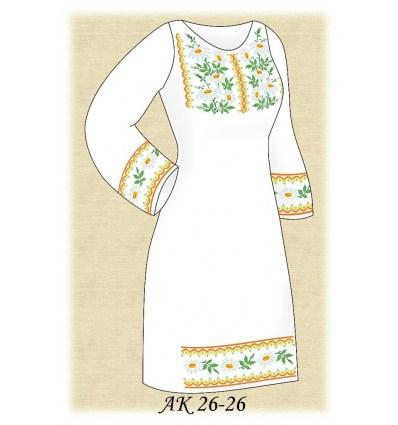 Заготовка платья АК 26-26