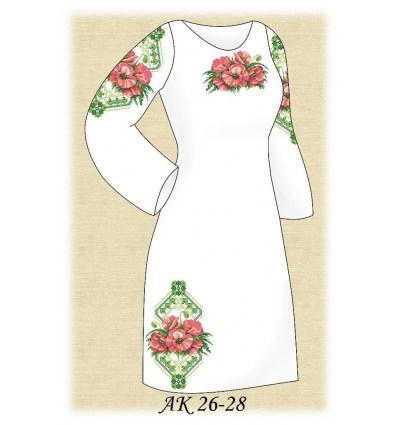 Заготовка платья АК 26-28
