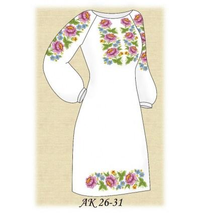 Заготовка платья АК 26-31