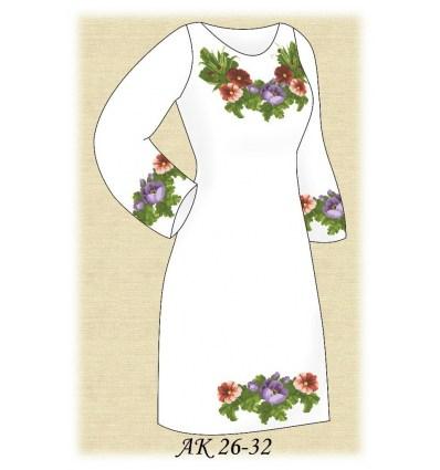 Заготовка платья АК 26-32