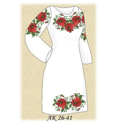 Заготовка платья АК 26-41