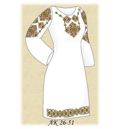 Заготовка платья АК 26-51