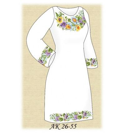Заготовка платья АК 26-55