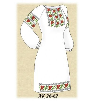 Заготовка платья АК 26-62