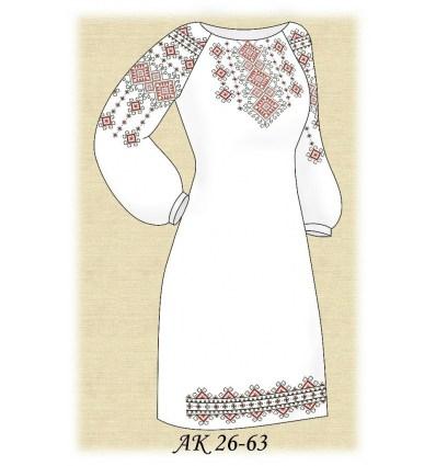 Заготовка платья АК 26-63