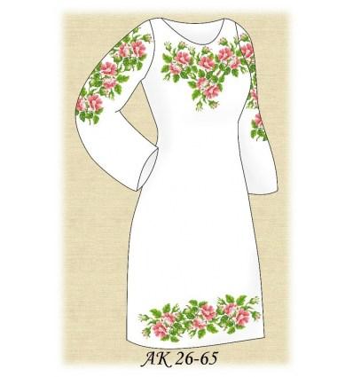 Заготовка платья АК 26-65