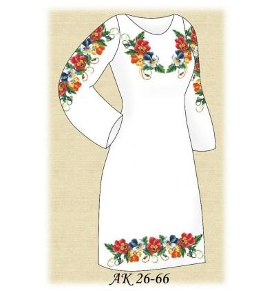 Заготовка платья АК 26-66