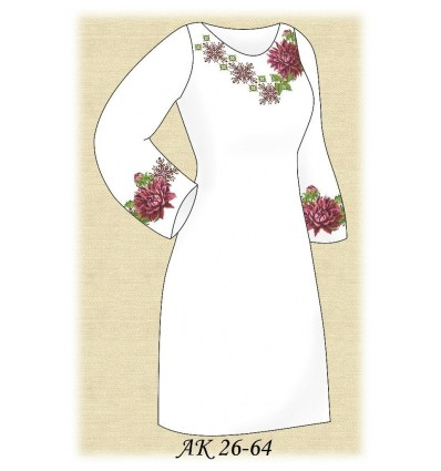 Заготовка платья АК 26-64