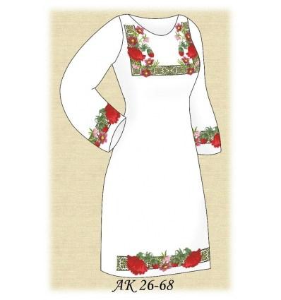 Заготовка платья АК 26-68