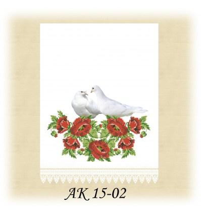 Заготовка рушника АК 15-02