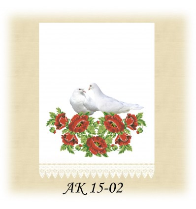 Заготовка рушникаАК 15-02