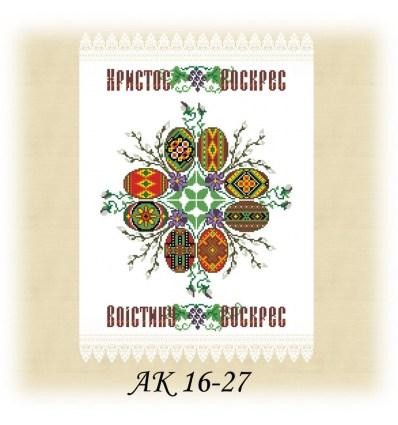 Заготовка рушника АК 16-27