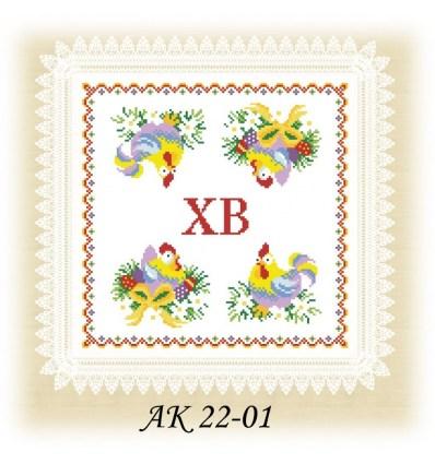 Заготовка салфетки АК 22-01