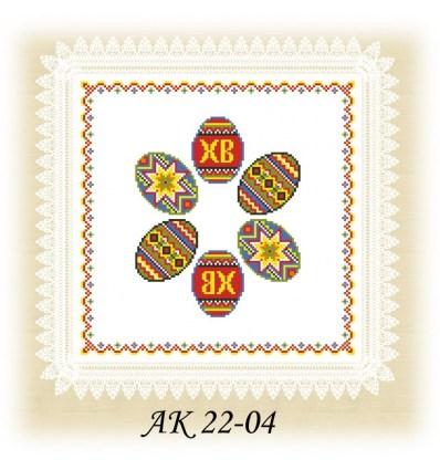 Заготовка салфетки АК 22-04