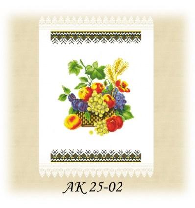 Заготовка рушника АК 25-02