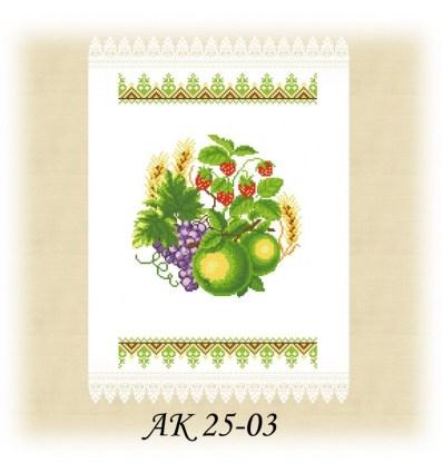 Заготовка рушника АК 25-03