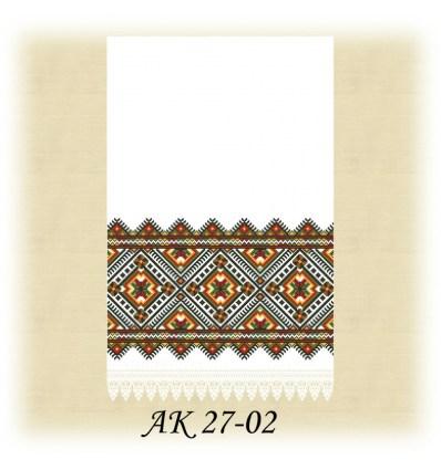 Заготовка рушника АК 27-02