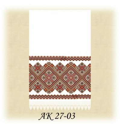 Заготовка рушника АК 27-03