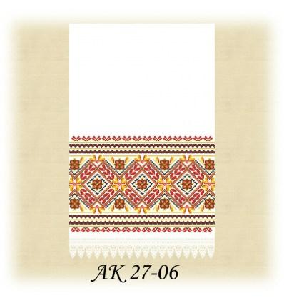 Заготовка рушника  АК 27-06