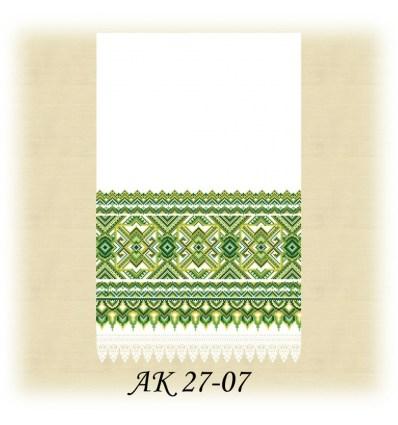 Заготовка рушника АК 27-07