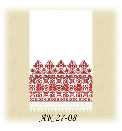 Заготовка рушника АК 27-08