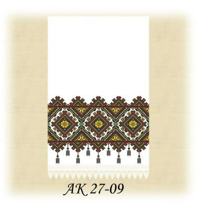 Заготовка рушника  АК 27-09