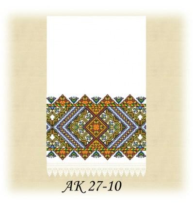 Заготовка рушника АК 27-10