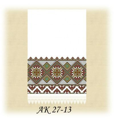 Заготовка рушника АК 27-13