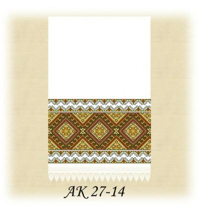 Заготовка рушника АК 27-14