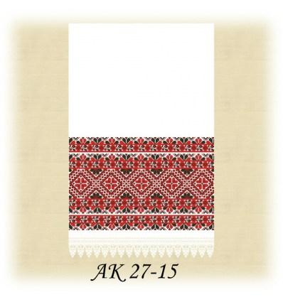 Заготовка рушника АК 27-15