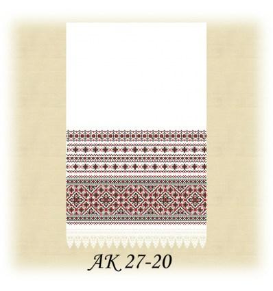 Заготовка рушника АК 27-20