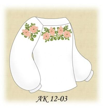 Заготовка детской блузки АК 12-03