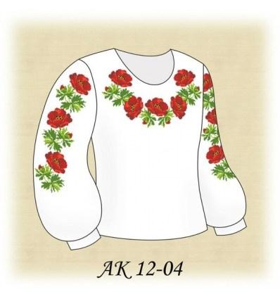 Заготовка детской блузки АК 12-04